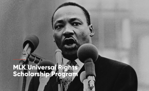 MLK Universal rights scholarship program